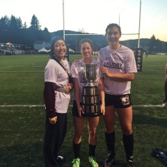 From the track to the turf Med school hopeful Laura Morrison decided to switch sports from track to rugby in her fourth year, and is already among the best in the province