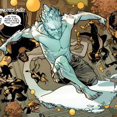 Uncanny X-Men ends with a bang The Brian Michael Bendis-written series concludes with an important revelation on the part of one of its main characters, Iceman. The significance of it will be felt across the LGBTQ+ comics-reading community and beyond