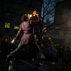 Sparking student interest Rain or shine, Light Up the Night returns to McMaster's campus next Friday for an evening of events, rides and of course, food