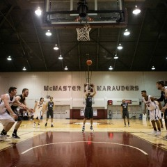 Half a decade Guard Aaron Redpath ends his five years with McMaster Men's Basketball