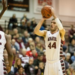 Persistence prevails Lazar Kojovic has made his way up the McMaster Basketball bench and onto the score sheet