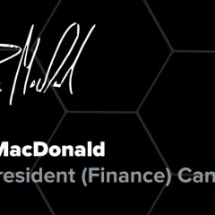 Ryan MacDonald — Vice-President (Finance)